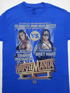 a12646f7a Shawn Michaels HBK VS Bret Hart Iron Man Match Wrestlemania XII WWE ...