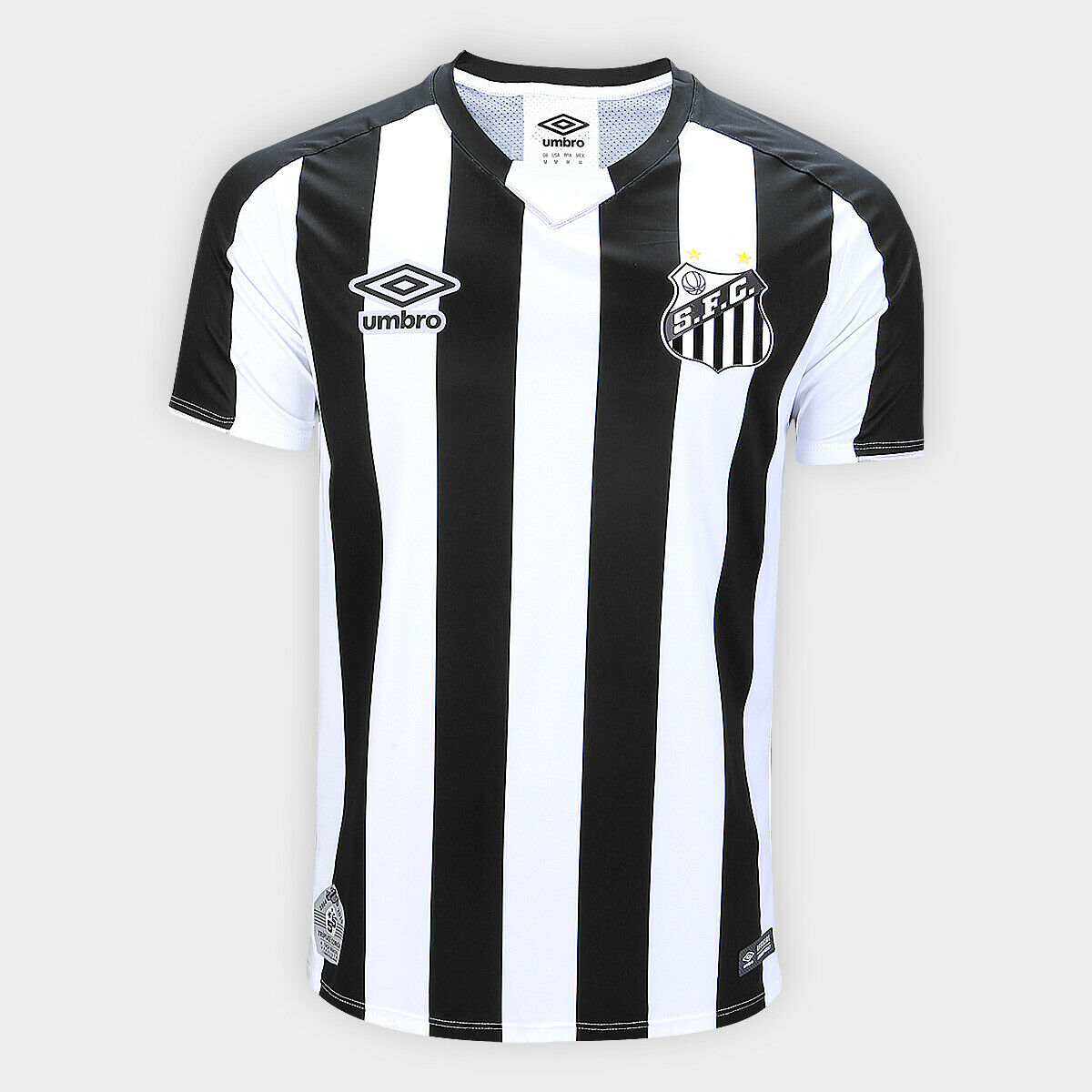 Santos Away Soccer Football Player Jersey Shirt  2019 2020 Umbro Brazil