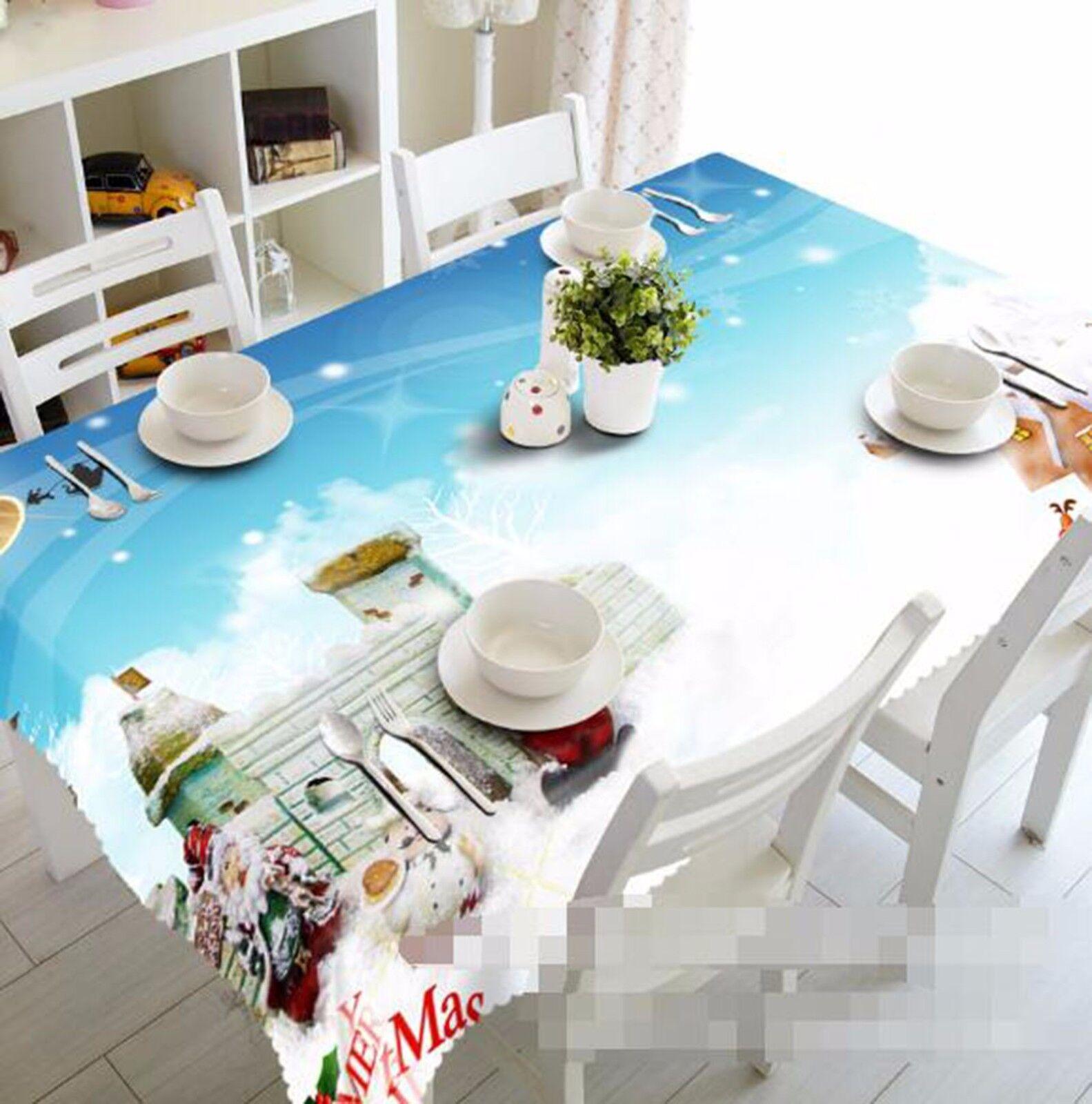 3D Mur Blanc Nappe Table Cover Cloth fête d'anniversaire AJ papier peint Royaume-Uni Citron