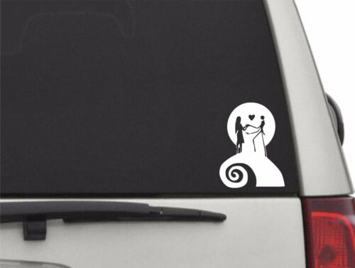 """5/"""" H Nightmare Before Christmas Jack Sticker for Car Truck Vinyl Decal Sticker"""