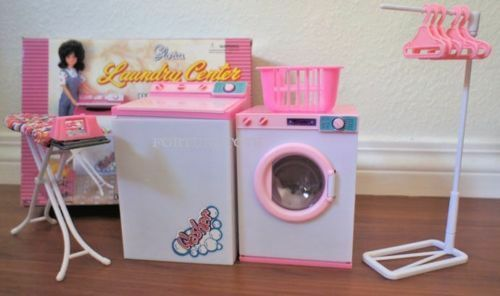 Etonnant Gloria Dollhouse Furniture Laundry Center W Washer Dryer Playset For Barbie  | EBay