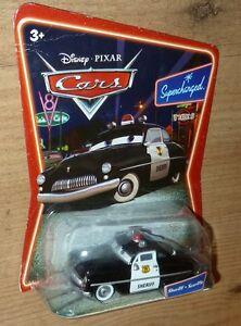 New Disney Cars Sheriff Diecast Supercharged Ebay