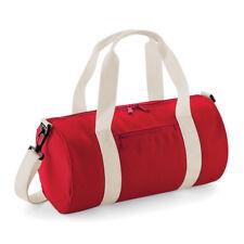 0545602abbc4 BagBase Mini Barrel Bag Small Funky Gym Sports Holdall Duffel Style (BG140S)