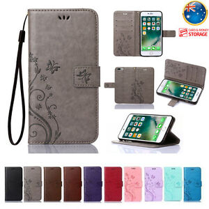 Leather-Magnetic-Flip-Wallet-Cards-Holder-Case-Cover-For-iPhone-X-Xs-Max-Xr-7-8