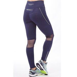 Skechers-Womens-Vega-Printed-Running-Gym-Training-Sports-Bottoms-Tight-Leggings