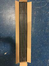 Atlas 2500 N Code 80 Super-Flex Track Black Ties / Nickel Silver Rail (50 Pcs)