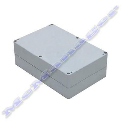 171x121x80mm Grey ABS Plastic Enclosure Small Project Box  IP65 Sealed