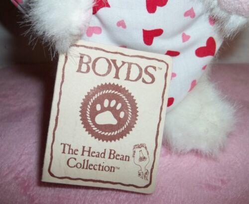 "VALENTINE BOYD/'S BEAR /"" DONCHA LOVEIT/""  # 82080 WITH TAGS THE HEAD BEAN COLL."
