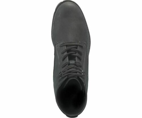 in Black Basis CAT Mens Full Grain Leather Modern Boots