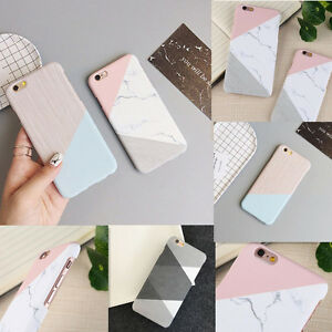 Simple-Granite-Marble-Matte-Silicone-TPU-Hard-Case-Cover-for-iPhone-6-6S-7-Plus