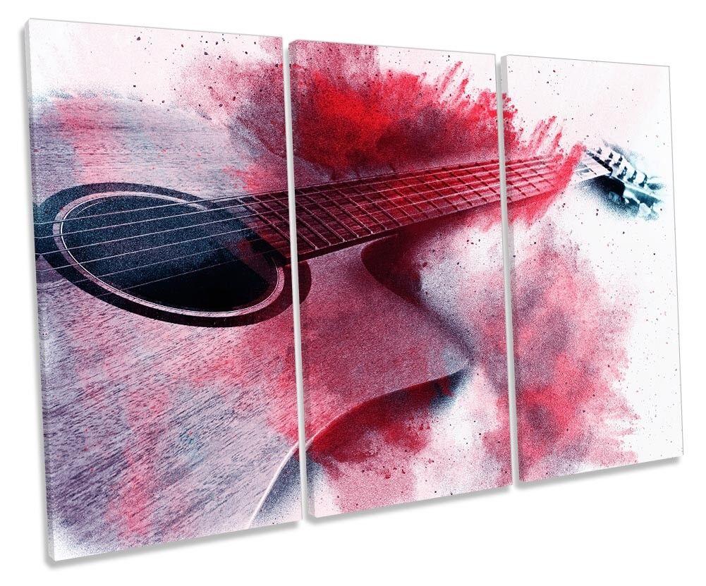 Guitarrista música um homem novo joga uma guitarra acústica em um