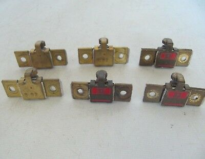 NEW LOT OF 6 SQUARE D B1.03 THERMAL OVERLOAD HEATERS