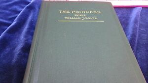 ANTIQUE-1884-THE-PRINCESS-A-MEDLEY-BY-TENNYSON-EDITED-ROLFE-WITH-ILLUSTRATIONS