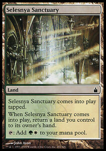 X4-Sanctuaire-de-Selesnya-Selesnya-Sanctuary-VO-MTG-Magic-NM-EX