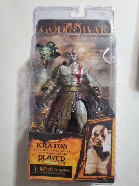 "God of War NEW SEALED Golden Fleece PLAYER Action Figure - NECA 7/"" Kratos"
