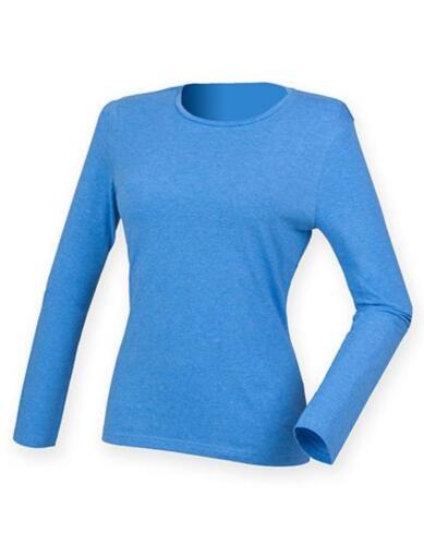 langer SchnittSF Women Damen Feel Good Long Sleeved Stretch T