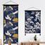 1PC-Print-Tapestry-Wall-Hanging-Banner-Flag-Adorn-Japanese-Ukiyoe-Wave-Crane-New thumbnail 2