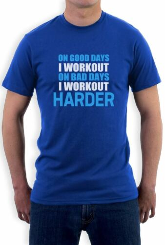 Work Out Harder T-Shirt Bodybuilding Gym exercise Best Workout Motivation