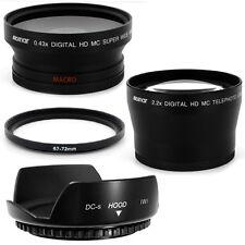 67mm Hood Flower Petal Wide Angle,Telephoto Lens for Nikon D5000 D7000 18-105mm