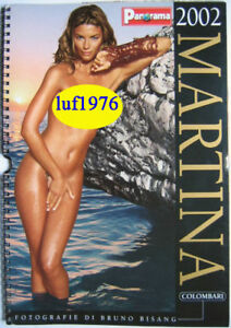Panorama Calendario.Details About Calendar Sexy Martina Colombari Calendario Panorama 02