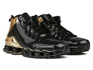 buy cheap 0783a b9119 NEW Nike Shox TLX MID SP Black, GOLD 677737-002 Size 10.5, 44.5 EUR ...
