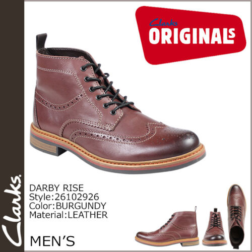 7 Hombre Clarks True Burdeos 5 Zapato Darby Trendy Oxford Subir Uk fBxZBqw8d