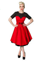 Rockabilly Swing Dress,1950s Reproduction Princess Dress, Stunning, S-xxl