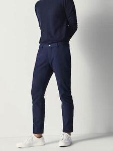 Dettagli su Massimo Dutti Città Da Uomo Slim Fit Cotone Pantaloni Cargo Style, 44in, Nuovo di Zecca mostra il titolo originale