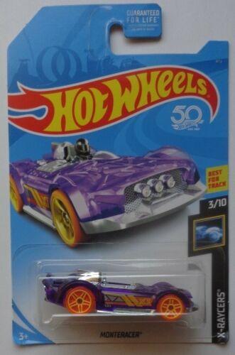 Kroger Exclusive 2018 Hot Wheels X-RACERS 3//10 Monteracer