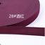 Wholesale 2//5M 25 mm Couleur Bande Élastique Plate Élastique CEINTURE Vêtements accessoires