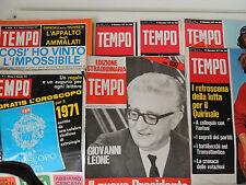 Rivista TEMPO - Terremoto del dollaro e adesso la Lira? - Agosto 1971