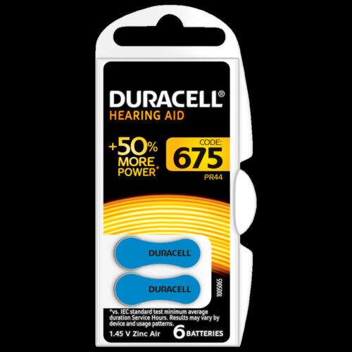 DURACELL Hörgerätebatterie EasyTab 675 PR44 1,4V 6er-Bli