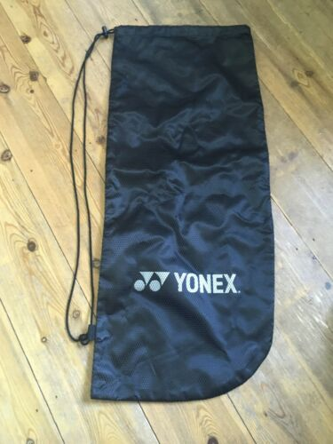 Black With Strap Suitable for any Yonex Tennis Racket Cover Soft Shell Mesh