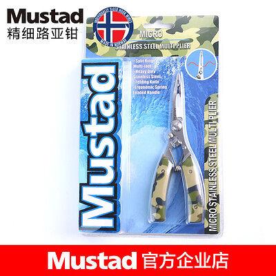 """Mustad Braid Cutter /& Split Ring 5/"""" Fishing Pliers MT029 NEW"""