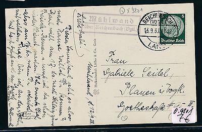 Karte 1933 Produkte Werden Ohne EinschräNkungen Verkauft vgtl Unter Der Voraussetzung 92668 Dr > Ddr Landpost Ra2 Mühlwand über Reichenbach