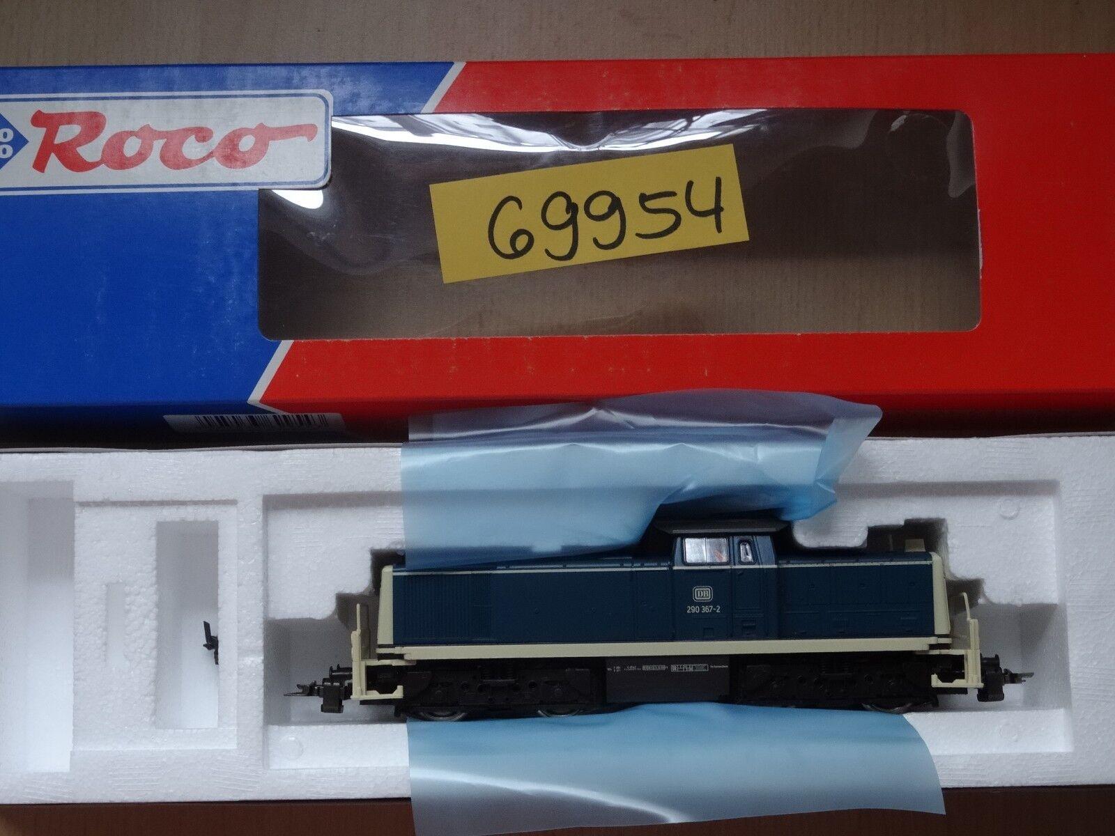 ROCO HO ART 69954 DIESEL BR 290, AC, Merce Nuova Ovp