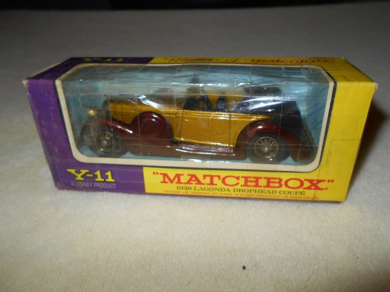 Matchbox 1938 Lagonda Drophead Coupe Y-11 1 43
