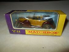 Matchbox 1938 Lagonda Drophead Coupe Y-11 1/43