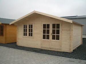 Gartenhaus Fußboden Versiegeln ~ Mm gartenhaus blockhaus david m bohlenmaß inkl mm fußboden