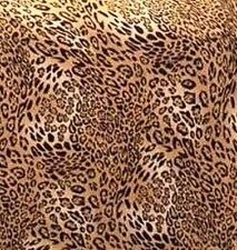 """LEOPARD --FITTED LOVESEAT COVER SLIPCOVER    """"STRETCH""""  --AVAILABLE IN ALL SIZES"""