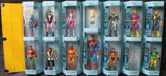DC Universe classeics _ LEGIONE DEI SUPEREROI 12 PACK _ Esclusivo Edizione Limitata _ Nuovo di zecca con scatola