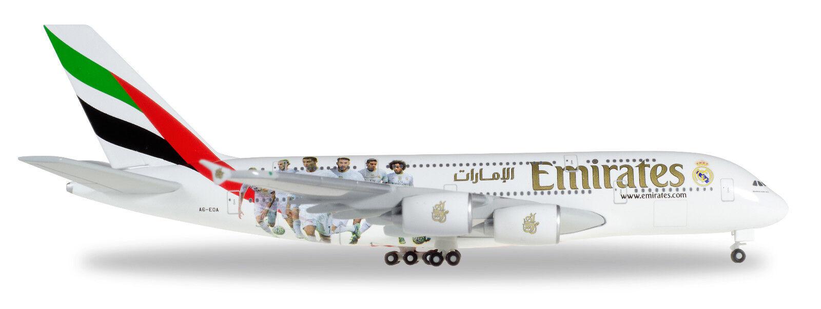 Herpa 529242 airbus a380 - 800 emiirates verordn.a6-eoa 1  500 neu