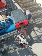 4pcs - Key chain quarter replacement coin unlock Shopping cart Release