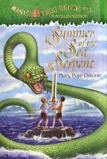 Magic Tree House Merlin Mission: Summer of the Sea Serpent No. 3 by Mary Pope Osborne (2004, Hardcover)