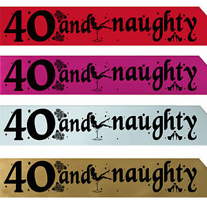 BIRTHDAY-GIRL-40TH-PARTY-SASH-NIGHT-OUT-ACCESSORY-GIRLS-SASHES-FUN-FORTY