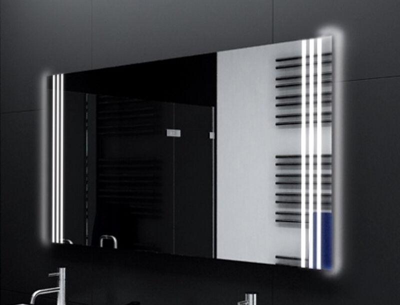 Badspiegel mit LED Beleuchtung Badezimmerspiegel Bad Spiegel Wandspiegel M160