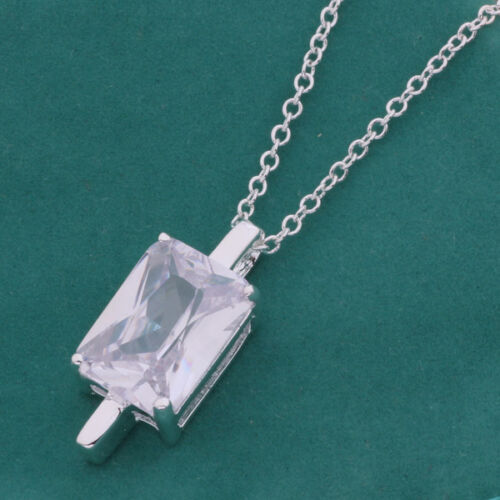 Bag NEW Wholesale 925Solid Silver Charming Pendant Necklace Chain  Xmas Gift