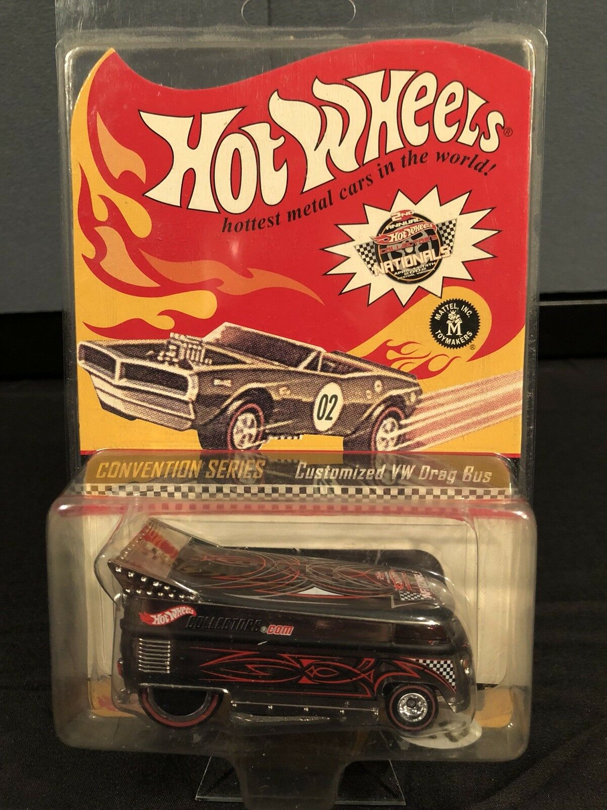 Hot wheels rlc Customized VW Drag Bus 2002 National Convention Piece