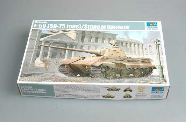 Model Vehicle 9580208015361 1//35 by Trumpeter German E-50 Standardpanzer