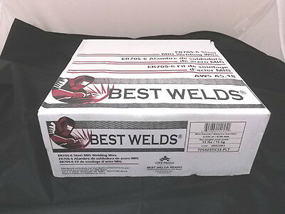 33 Lb Roll MIG WELDING WIRE ER70S-6 0.035 X 33LB ROLL COPPER COATED .035